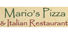 Logos online offers list marios pizza