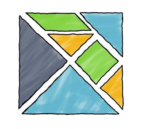 Hand-drawn Elm logo by Christian Charukiewicz