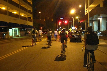 Image: Friday Night Bike Ride