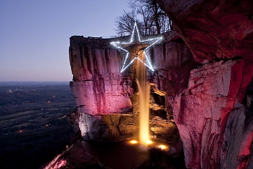 Image: Rock City's Enchanted Garden of Lights