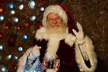 Image: Ruby Falls Christmas Underground