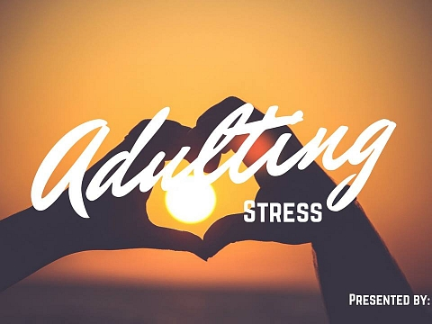 "Image: The Chattery Presents ""Adulting Summer Camp: Let's Talk About Stress, Baby"""