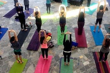 Image: Artful Yoga: Room to Revitalize