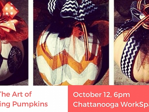 "Image: The Chattery Presents ""The Art of Pumpkin Painting"""
