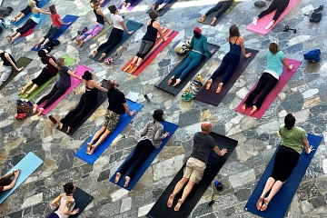 Image: Artful Yoga: A Multi Sensory Experience