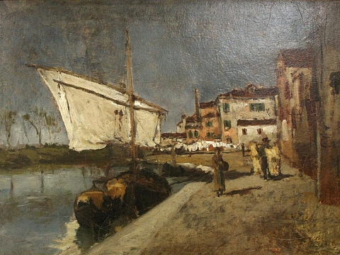 Image: Artistic Excursions: John Twachtman And Friends