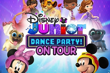 Image: Disney Junior Dance Party On Tour