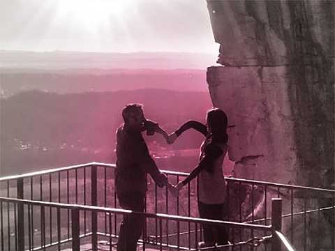 Image: Valentine's at Lover's Leap
