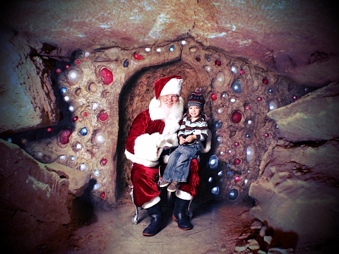 Image: Ruby Falls Christmas Underground – A Journey to the North Pole