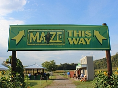 Blowing Springs Farm featuring Rock City's Enchanted MAiZE