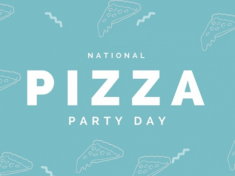 Image: The Chattery Presents National Pizza Party Day!