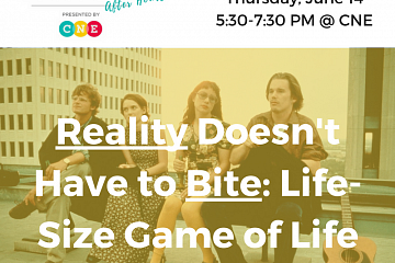 Image: Money School After Hours: Reality Doesn't Have to Bite: Life-Size Game of Life