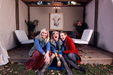 Image: Country Cool Comedy: Trish Suhr, Leanne Morgan And Karen Mills