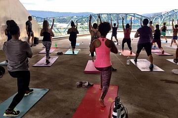 Image: Artful Yoga: Powering Up with Vino and Vinyasa