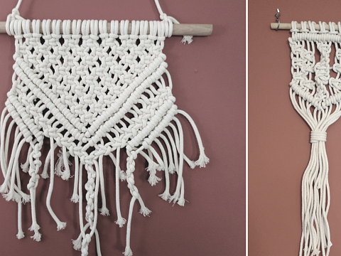 "Image: The Chattery Presents ""DIY Decor: Beginner's Macrame"""