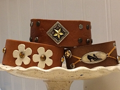 """The Chattery Presents """"Jewelry Making: Leather Cuff"""""""