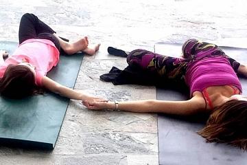 Image: Artful Yoga: Family Style