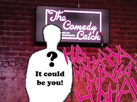 Image: Comedy Catch Open Mic