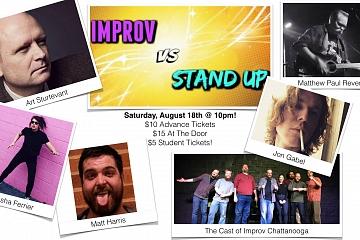 Image: Improv vs Stand-Up