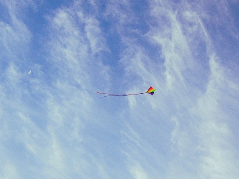 """Image: The Chattery Presents """"Beginner Kite Making"""""""