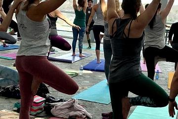 Image: Artful Yoga: Falling Into the Season with Emily Bourland