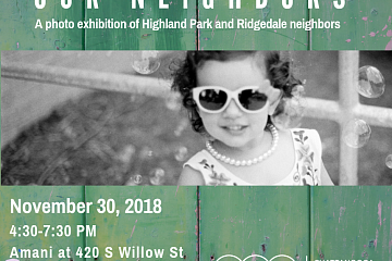 Image: Our Neighbors – A Photo Exhibition of Highland Park and Ridgedale