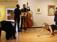 Artists Talking to Art: The Divine Poetess with Musicians and Dancers