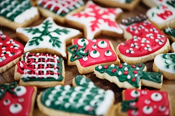 """Image: The Chattery Presents """"Holiday Cookie Decorating Party!"""""""