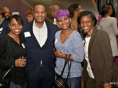 Image: Black Professionals @ the Hunter: community. connection. culture