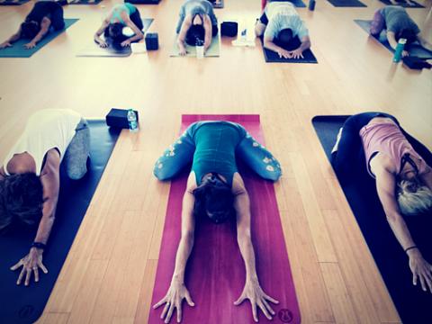 Image: Artful Yoga at Southern Soul