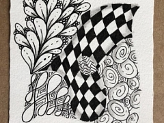 """The Chattery Presents """"Introduction to Zentangle"""""""