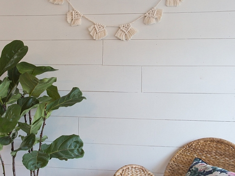 "Image: The Chattery Presents ""Beginner Macrame: Garland"""