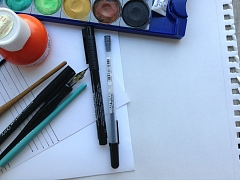 """The Chattery Presents """"Introduction to Calligraphy"""""""
