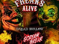 """Dread Hollow – Scream Break """"Freaks Alive"""""""