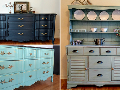 Image: The Chattery Presents: Furniture Painting 101