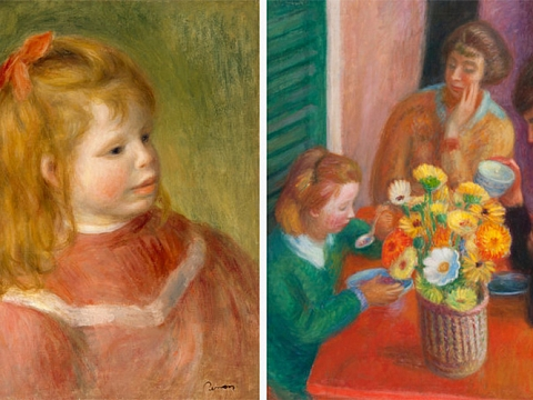 Image: Glackens and Renoir: Affinities & Distinctions