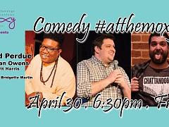 Comedy #atthemoxy