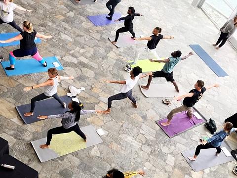 Image: Artful Yoga: Climbing Into May