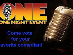 One Night Event: World Series of Comedy Competition