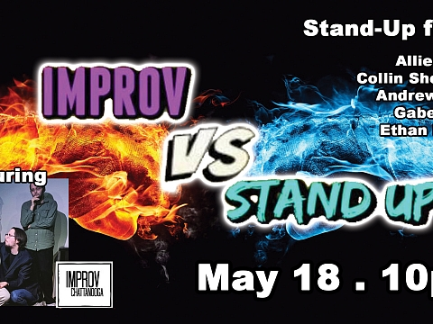 Image: Improv vs Stand Up