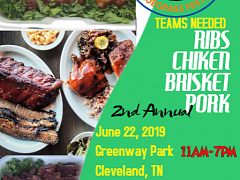 2nd Annual Cleveland TN BBQ Blues & Bluegrass Festival