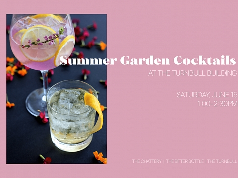 Image: The Chattery Presents: Summer Garden Cocktails