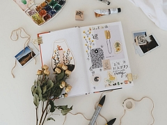 The Chattery Presents: Mixed Media Art Journaling