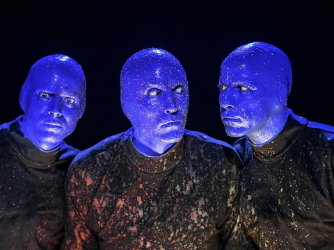 Image: Blue Man Group