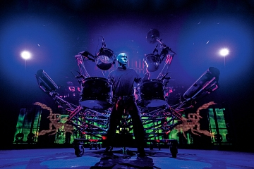 Image: Blue Man Group