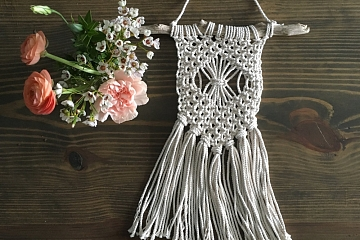 Image: Macrame and Mimosas