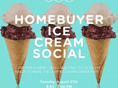 Homebuyer Ice Cream Social