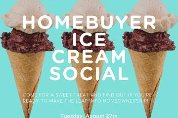 Image: Homebuyer Ice Cream Social