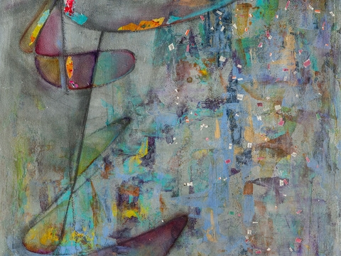 Image: Fearless Abstract: Abstract Painting for All!, 2-Part Class