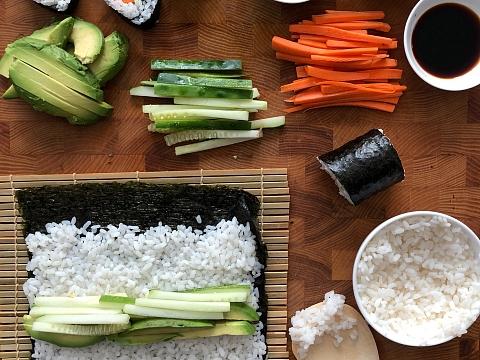 Image: Introduction to Sushi Making